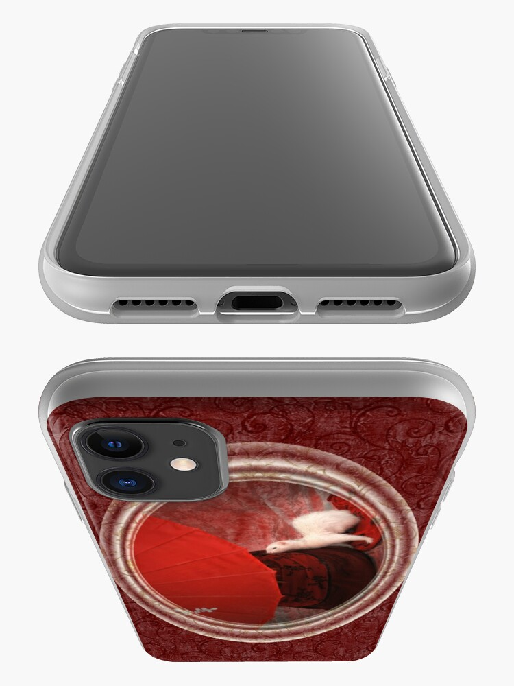 Alternate view of Red Passion iPhone Case iPhone Case & Cover