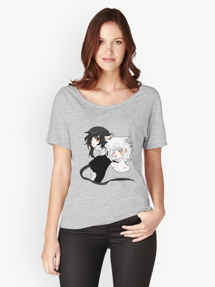 Cute anime couple  Women's Relaxed Fit T-Shirt Front