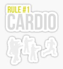 Zombie Survival Guide - Rule #1 Cardio Sticker