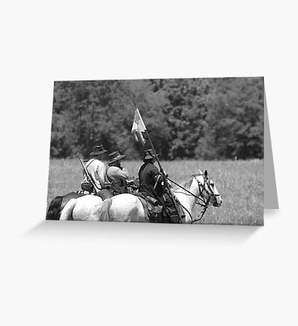 Confederate Scouts Greeting Card
