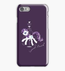 Rarity's Carousel Boutique iPhone Case/Skin