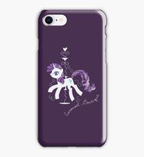 Rarity's Carousel Boutique iPhone Case/Skin