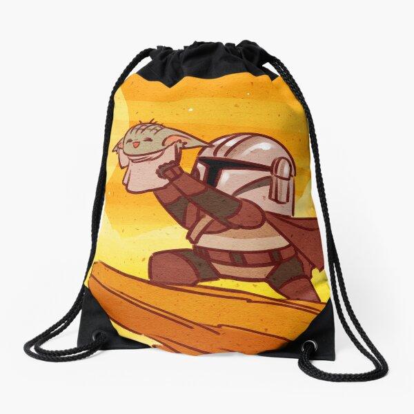 The Child 3 Drawstring Bag
