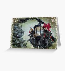 Christmas dreaming Greeting Card