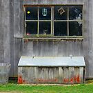 Barn Window by John Mitchell