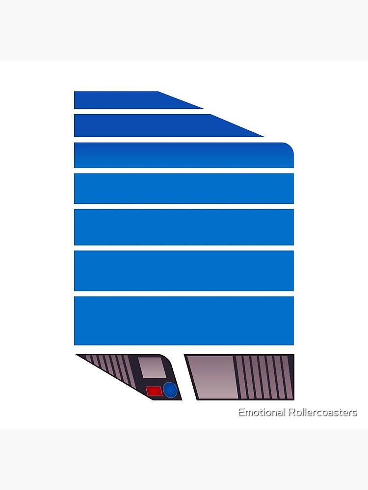 Magnum Futuristic Design (Blue) by ERCcomic