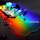 Rainbolic - Experimental Prism Photograph #15 by jeffjag