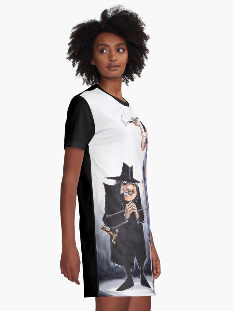 Alternate view of BORIS & NATASHA Graphic T-Shirt Dress
