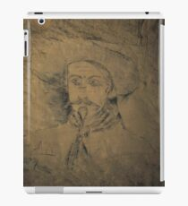 ww1 grafitti wild bill iPad Case/Skin