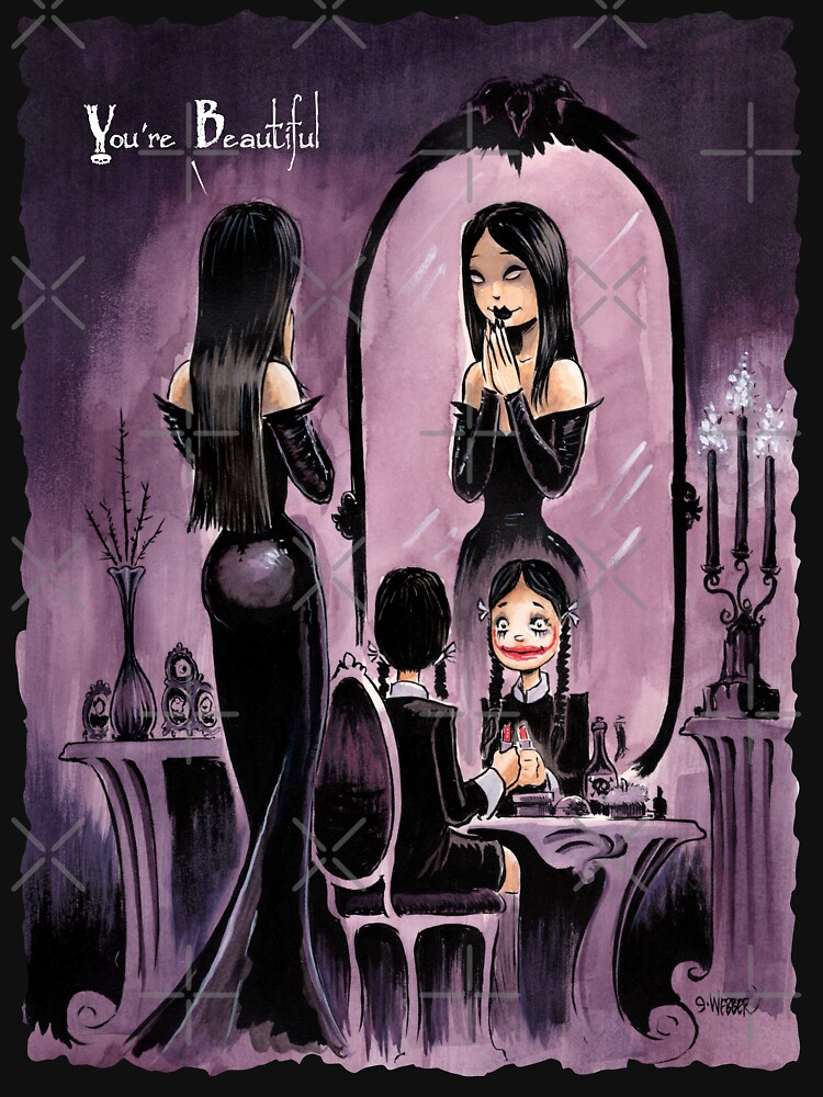 YOU'RE BEAUTIFUL -- For All My Little Goth Girls by gWebberArts