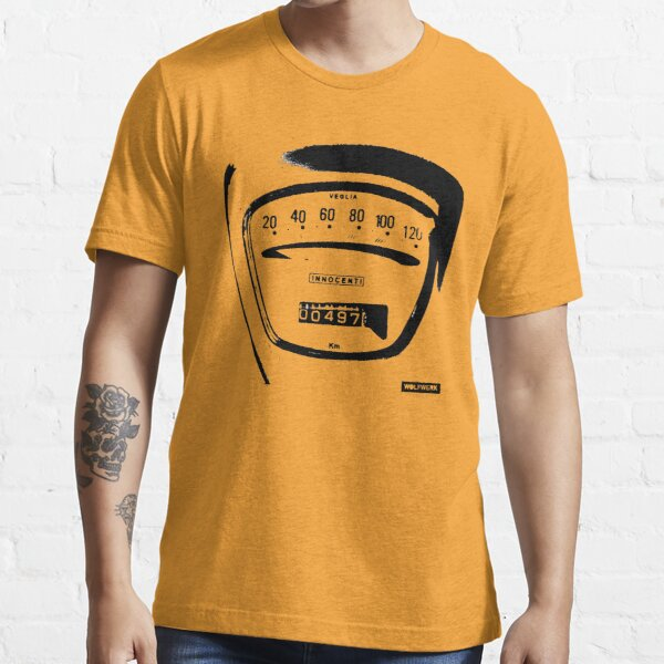 Lambretta Innocenti Veglia Speedo black Essential T-Shirt