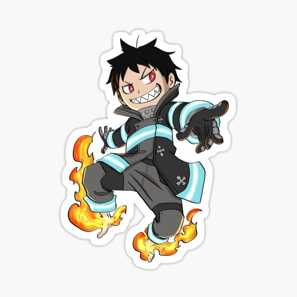 Shinra Chibi Sticker