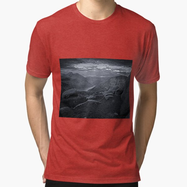 Silent Valley, Mourne Mountains Tri-blend T-Shirt