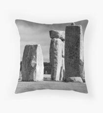 Stonehenge, Wiltshire Throw Pillow