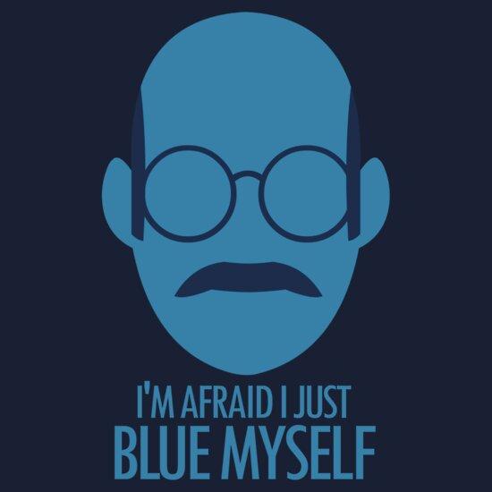 TShirtGifter presents: Blue Myself