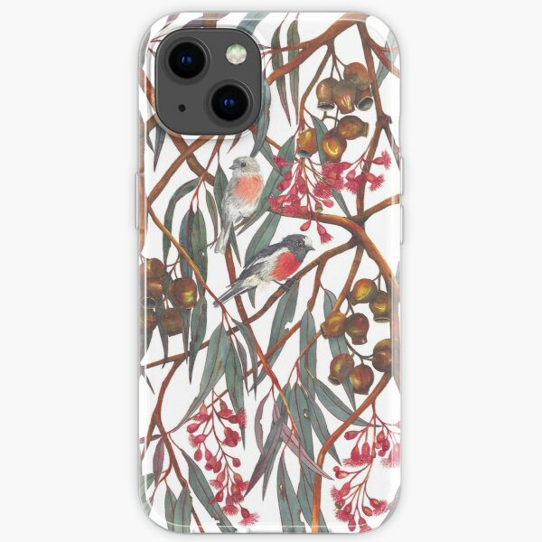 Scarlet Robins iPhone Soft Case