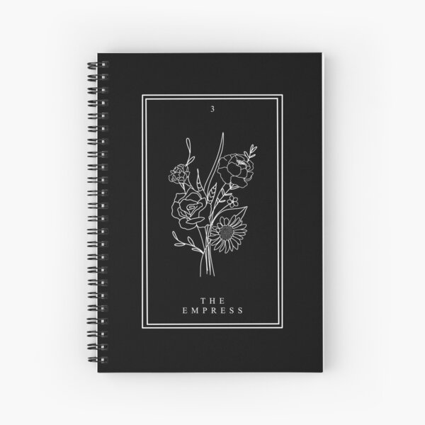 The Empress - Potions Tarot Card Spiral Notebook