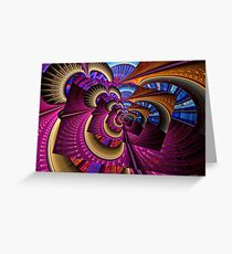 Droste Spiral Greeting Card