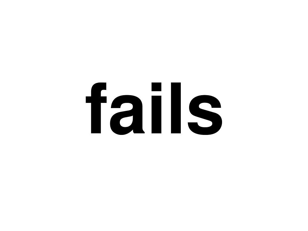 fails by ninov94
