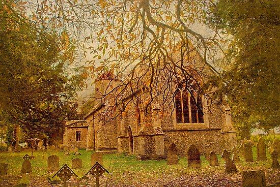 All Saints Church 2 by Catherine Hamilton-Veal  ©