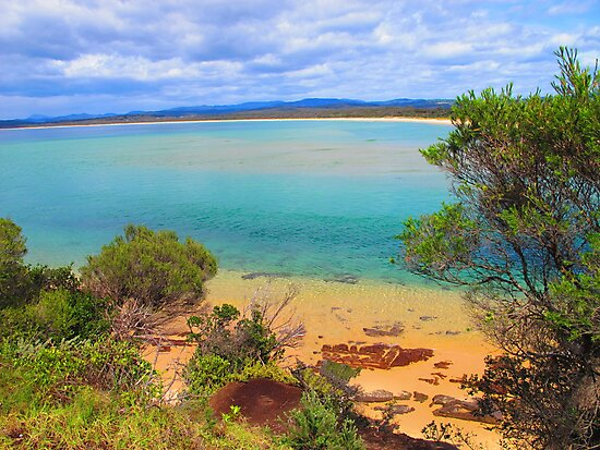 Main Beach, Merimbula by Michael John