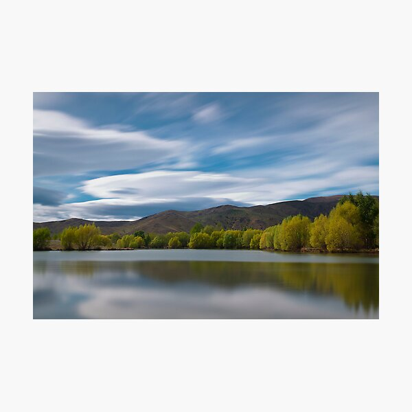 Spring At Twizel Photographic Print