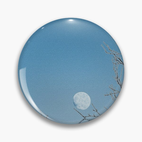A Blue Moon on the Water Pin
