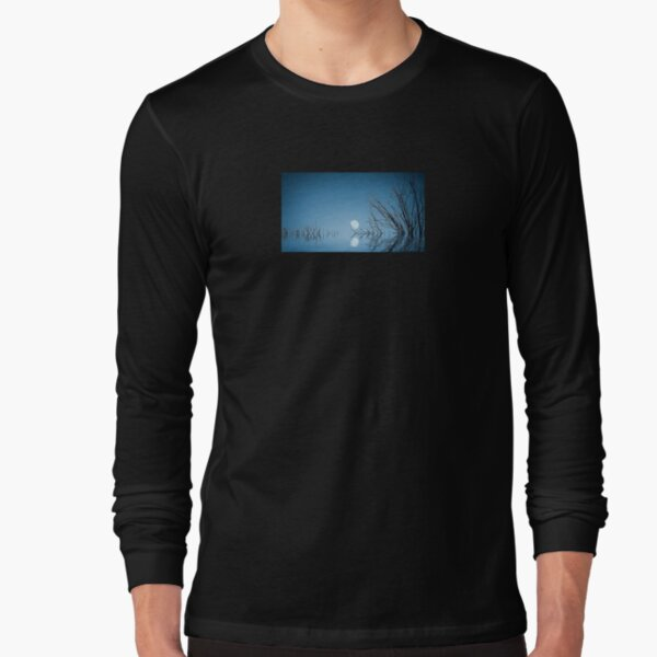 A Blue Moon on the Water Long Sleeve T-Shirt