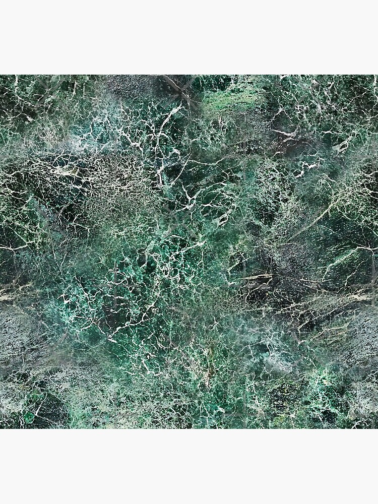 Emerald green marble photographic pattern by nobelbunt