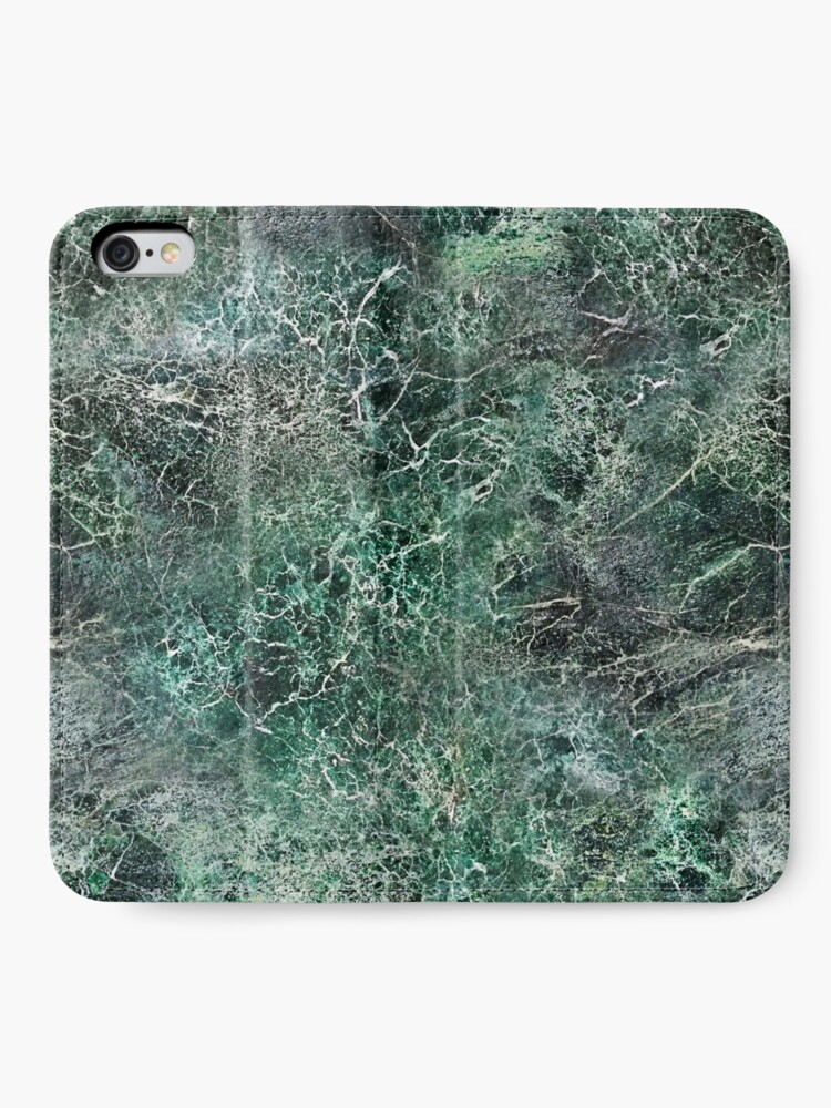 Alternate view of Emerald green marble photographic pattern iPhone Wallet
