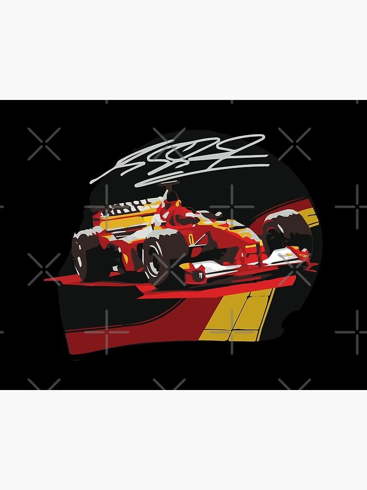 HD high quality print Motorsport design Formula one Michael Schumacher t-shirt