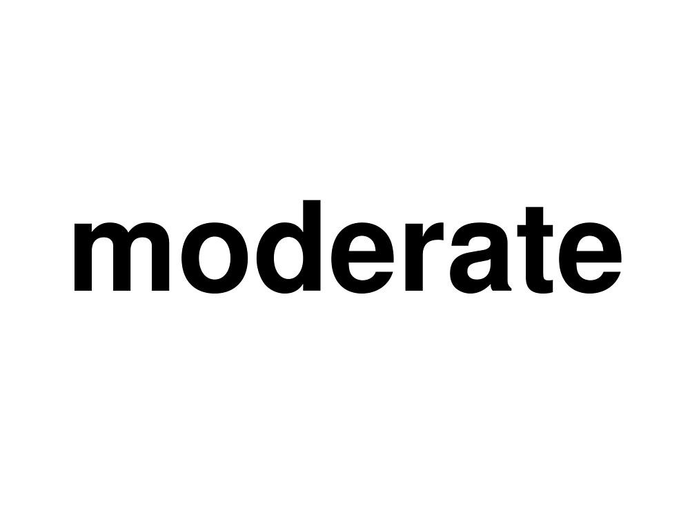 moderate by ninov94