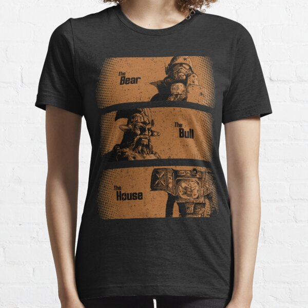 The Bear, The Bull, The House Essential T-Shirt