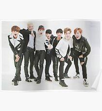 BTS/Bangtan Sonyeondan - Danger Photoshoot Poster