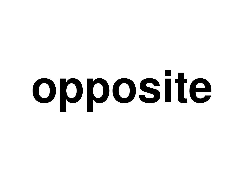 opposite by ninov94