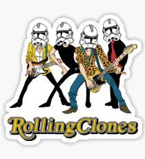Rolling Clones Sticker