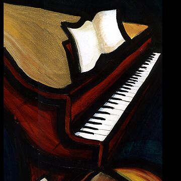 abstract piano by ronniearts