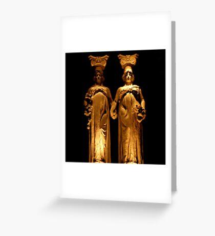 Gardiennes De La Nuit Greeting Card
