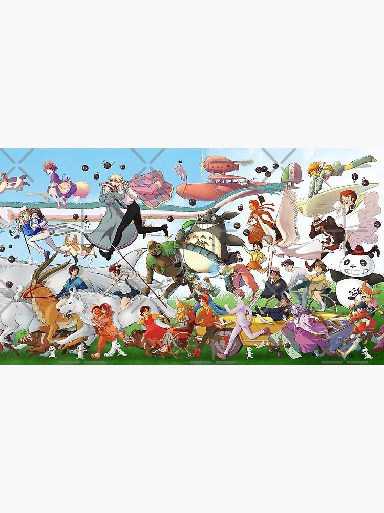 High Quality Prints Studio Ghibli Characters Poster