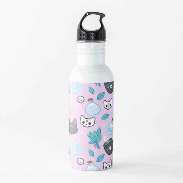 Herb Witch // Pink Water Bottle