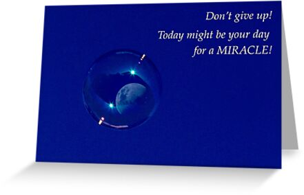 Today Might be Your Day for a Miracle by Elysian Photography ~ Art from the Heart