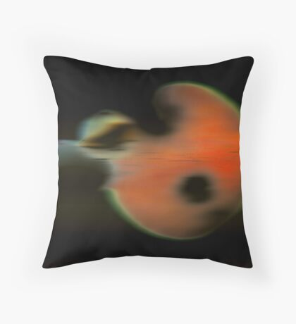 Floating Structure Throw Pillow