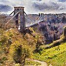 Clifton Suspension Brige, Bristol, UK by David Carton