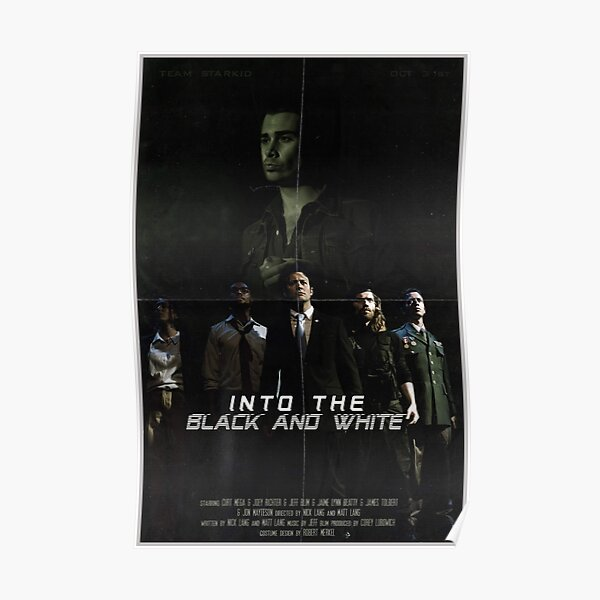 Into the Black and White Poster