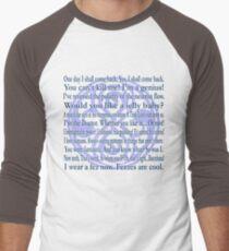 Galliphrases Men's Baseball ¾ T-Shirt