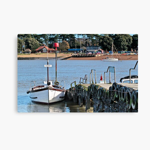 Ferry Canvas Print
