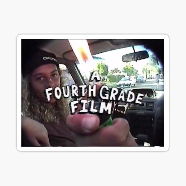 mid90s A FOURTH GRADE FILM Sticker