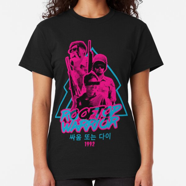 ROOF KOREAN - NEON SPECIAL EDITION. Classic T-Shirt