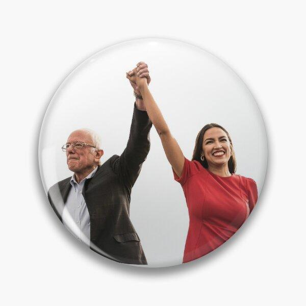 Bernie & AOC  Pin