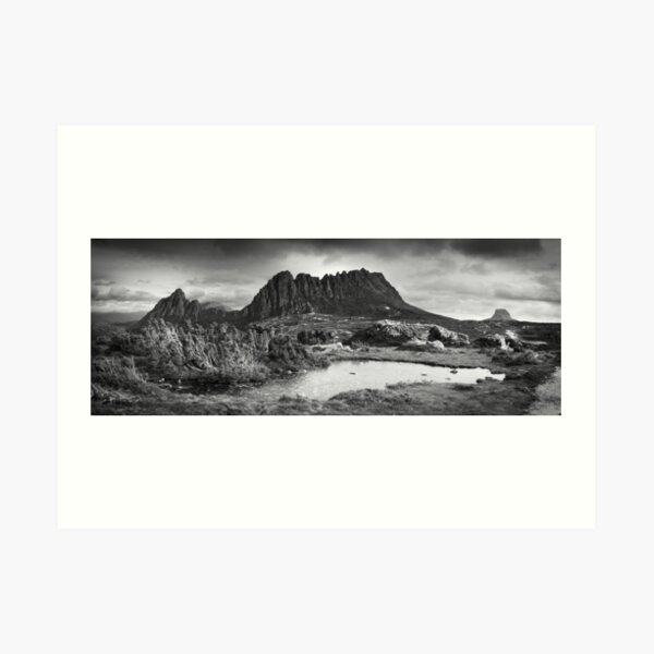 Cradle Mountain tarn Art Print